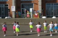День защиты детей в посёлкее Ермаково!