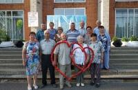 День семьи,любви и верности в посёлке Ермаково!