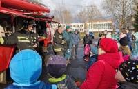 Интерактивная программа о работе пожарных в п. Ермаково